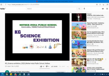 Online Kids Science Exhibition  2020