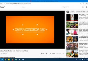 Online Children's Day 2020-21